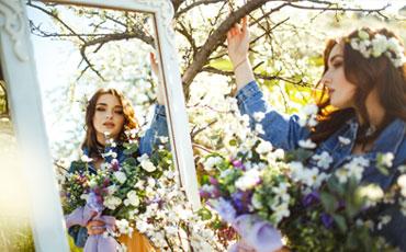 Miroirs-du-jardin